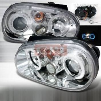 VOLKSWAGEN 99-03 V.W. GOLF CCFL PROJECTOR HEADLIGHT performance conversion kit 1 SET