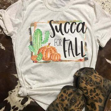 Succa For Fall Graphic Tee