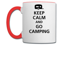 keep calm and go camping - Coffee/Tea Mug