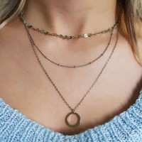 Stand By You Necklace: Silver