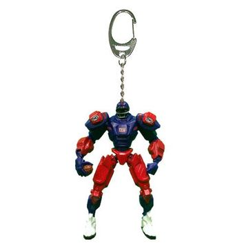 New York Giants Keychain Fox Robot 3 Inch Mini Cleats