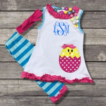 Easter Chick N Egg Outfit