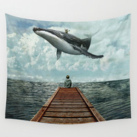 Pier Wall Tapestry by Seamless