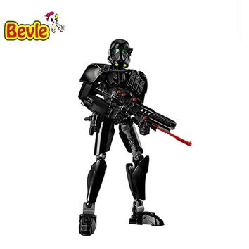Star Wars Force Episode 1 2 3 4 5  Series  KSZ 616 Death  Trooper Building Bricks Block Toys Compatible with Legoings Rogue One 75121 AT_72_6