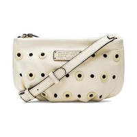 Marc by Marc Jacobs New Q Grommet Percy Bag in Ivory