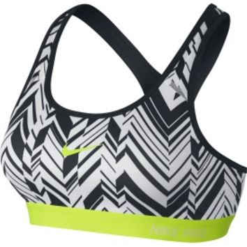 Nike Women's Pro Classic Freeze Frame Padded Compression Sports Bra | DICK'S Sporting Goods