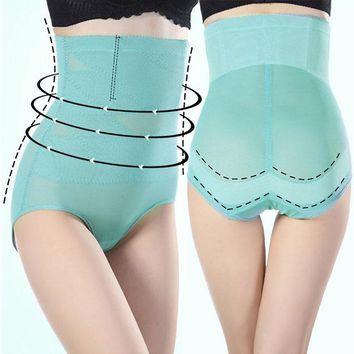 Sale S-4XL Plus Size Slimming High Waist Abdomen Underwear Women Shapewear Control Panties Clothing Accessories