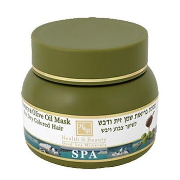 Olive Oil & Honey Nourishing Hair Mask With Dead Sea Minerals