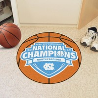 North Carolina Tar Heels Basketball Rug Mat- 2017 Championship