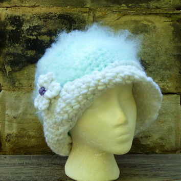 Winter Cloche Hat/Hat/Cap - Crochet