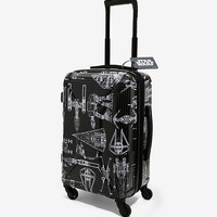 Star Wars Ship Schematic 21 Inch Spinner Luggage - BoxLunch Exclusive