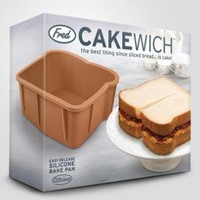 fredflare.com | 877-798-2807 | cakewich baking pan
