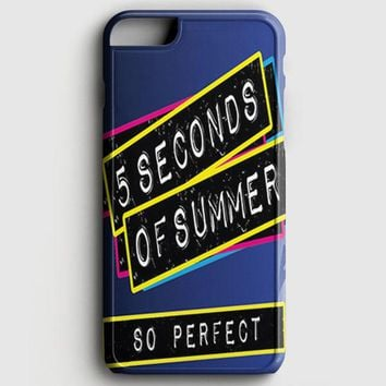 5 Second Of Summer Quote iPhone 7 Case