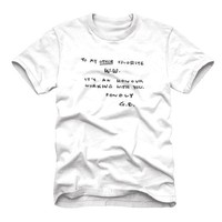 Breaking Bad - Dear W.W. Note - T-Shirt (Large)
