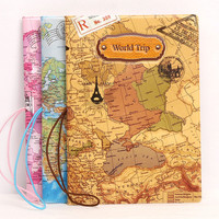 Hot 3D World Map Imitation Leather Passport Cover Unisex Airport ID Tickets Passport Holder Women Multifunctional Passport Case