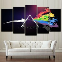 Pink Floyd Rock Music Wall Art Poster Print Picture  Canvas Framed UNframed