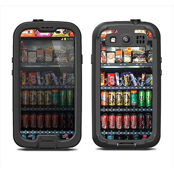 The Vending Machine Samsung Galaxy S3 LifeProof Fre Case Skin Set