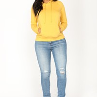 Everyday Classic Hoodie - Yellow