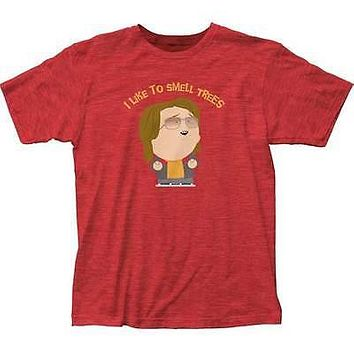 South Park Trees Adult Heathered T-Shirt