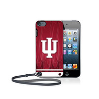 Indiana Hoosiers iPod Touch 5G Case officially licensed by Indiana University for the Apple iPod Touch 5G by keyscaper® Flexible Full Coverage Low Profile