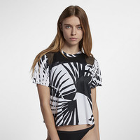 The Hurley Quick Dry Mesh Palmer Women's T-Shirt.
