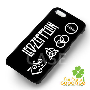 Led Zeppelin Symbol - z321zz for  iPhone 6S case, iPhone 5s case, iPhone 6 case, iPhone 4S, Samsung S6 Edge