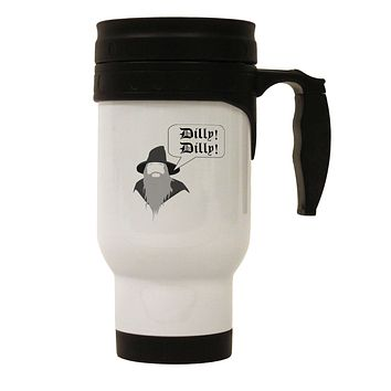 Wizard Dilly Dilly Stainless Steel 14oz Travel Mug by TooLoud