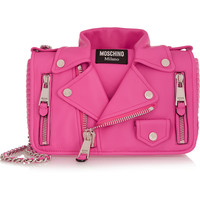 Moschino - Jacket medium leather shoulder bag