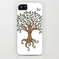 Shirley's Tree iPhone & iPod Case by Laurie A. Conley