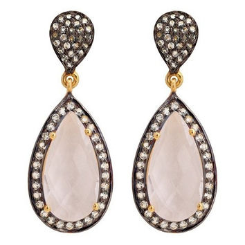 Lux Collection Moonstone Tear Drops