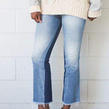 Catherine Cropped Flare Jean