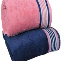 Trident His and Hers Cotton Bath Towel - Buy Trident His and Hers Cotton Bath Towel Online at Best Price in India | Flipkart.com
