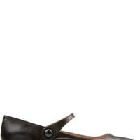 Marc Jacobs - Leather Mary-Jane Flats