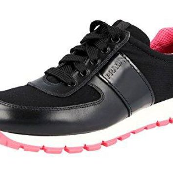 Prada Women's 3E6270 Leather Sneaker
