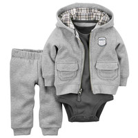 Hot bebes baby boy girl clothes set ,kids newborn clothes set ,baby suit retail conjuntos coat+ bodysuits +pants 3pcs meninos