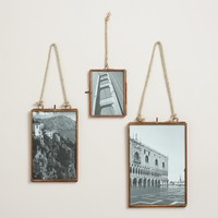 Copper Metal Vertical Reese Frame