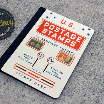 Cool Vintage US Postage Stamp Machine iPad 2/3/4 Folio Case