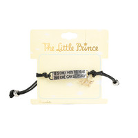The Little Prince Fox Charm Cord Bracelet