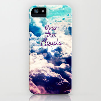 OVER THE CLOUDS - for iphone iPhone & iPod Case by Simone Morana Cyla