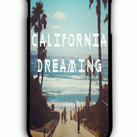 iPhone 6S Plus Case - Hard (PC) Cover with California Dreaming Plastic Case Design