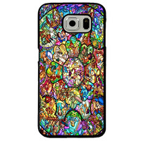 Disney All Characters Stained Glass Samsung Galaxy S7 Case