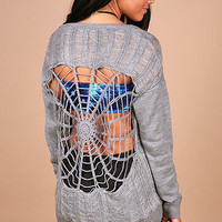 Widow Web Sweater - Knit Sweaters at Pinkice.com
