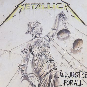 Metallica - Justice For All Decal