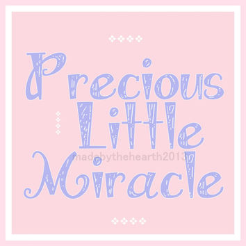 Baby Girl Nusery Printable Nursery Art 8x10 Girls Nursery Print