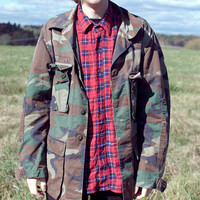 Camouflage Military Fatigue Jacket