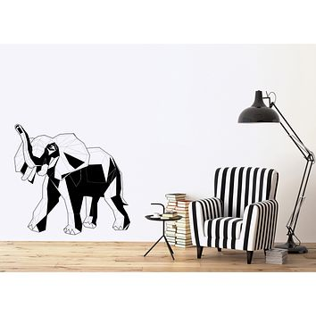 Wall Vinyl Decal Sticker Elephant African Animals Decor  Unique Gift (n1200)