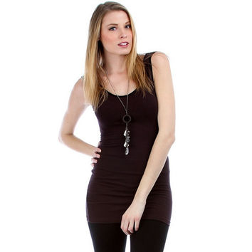 Fitted Tunic Tank D10120