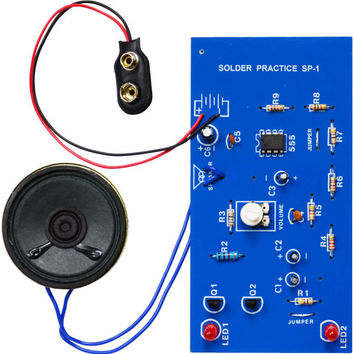 Solder Practice Kit - Make a Siren
