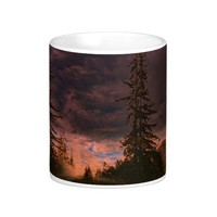 Big Sur sunset, on a mug