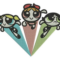 The Powerpuff Girls - 4 sizes